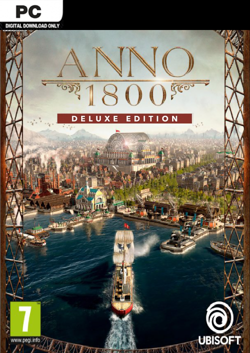 Compare Anno 1800 Deluxe Edition PC CD Key Code Prices & Buy 319