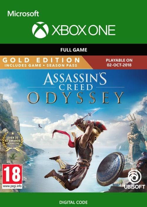 Compare Assassin S Creed Odyssey Gold Edition Xbox One Cd Key Code Prices Buy Keyofgames Com