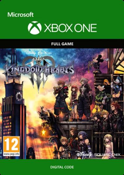 Compare Kingdom Hearts III 3 Xbox One CD Key Code Prices & Buy 5