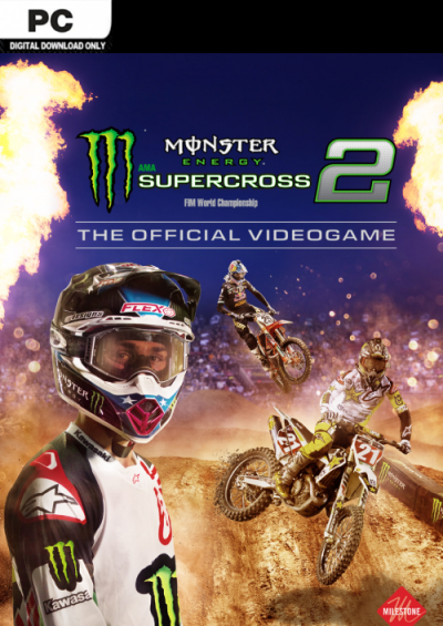 Compare Monster Energy Supercross : The Official Videogame 2 PC CD Key Code Prices & Buy 21