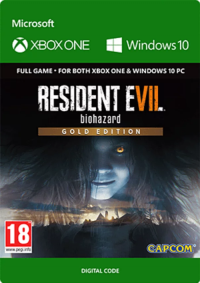 Compare Resident Evil 7 : Biohazard Gold Edition Xbox One CD Key Code Prices & Buy 19