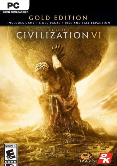 Compare Sid Meiers Civilization VI 6 Gold Edition PC CD Key Code Prices & Buy 15