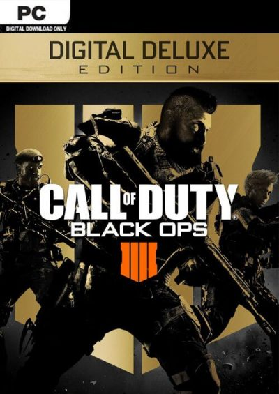 Compare Call of Duty (COD) Black Ops 4 Deluxe Edition PC CD Key Code Prices & Buy 5