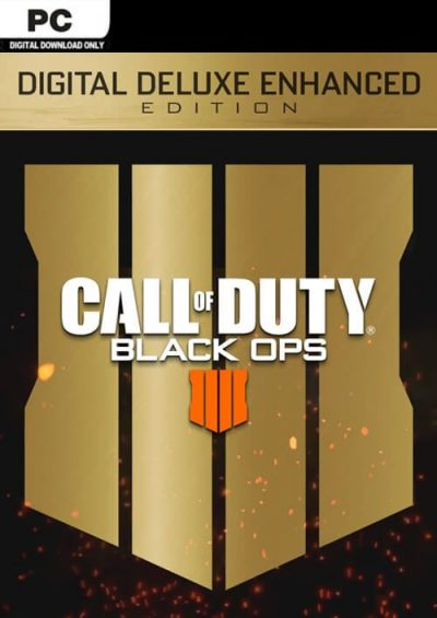 Compare Call of Duty (COD) Black Ops 4 Deluxe Enhanced Edition PC CD Key Code Prices & Buy 7