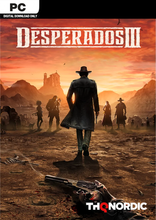 Compare Desperados 3 PC CD Key Code Prices & Buy 47