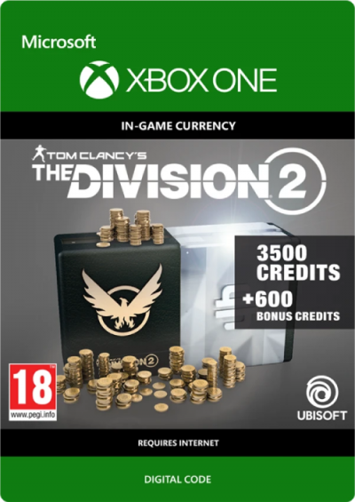 Compare Tom Clancy's The Division 2 4100 Credits Xbox One CD Key Code Prices & Buy 7