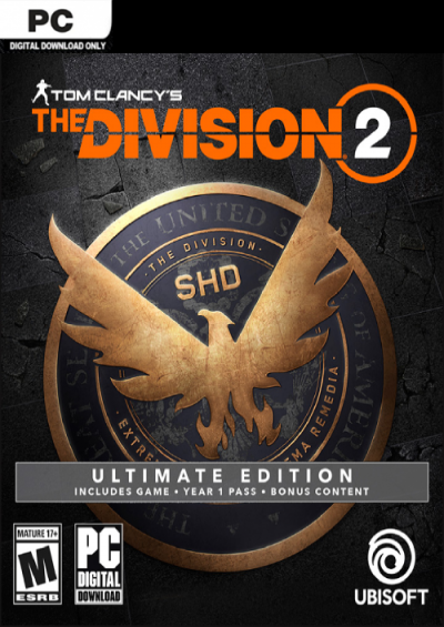 Compare Tom Clancy's The Division 2 Ultimate Edition PC CD Key Code Prices & Buy 1