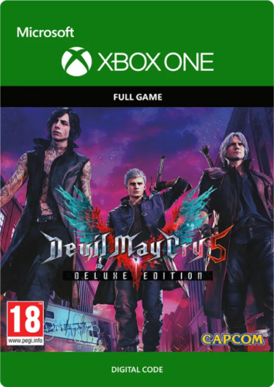 Compare Devil May Cry 5 Deluxe Edition Xbox One CD Key Code Prices & Buy 7