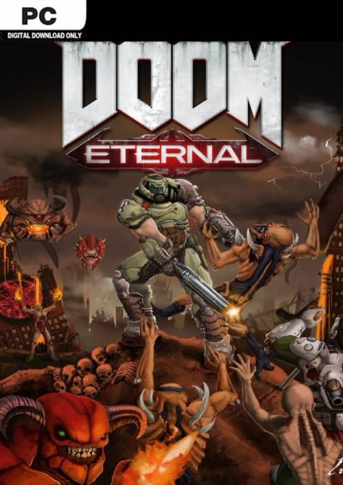 Compare DOOM Eternal PC CD Key Code Prices & Buy 142