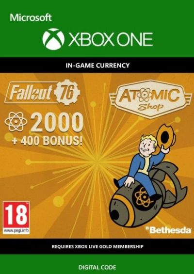 Compare Fallout 76 - 2400 Atoms Xbox One CD Key Code Prices & Buy 19
