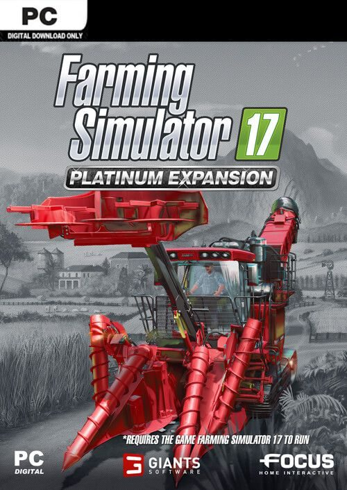 Compare Farming Simulator 17 - Platinum Expansion PC CD Key Code Prices & Buy 1
