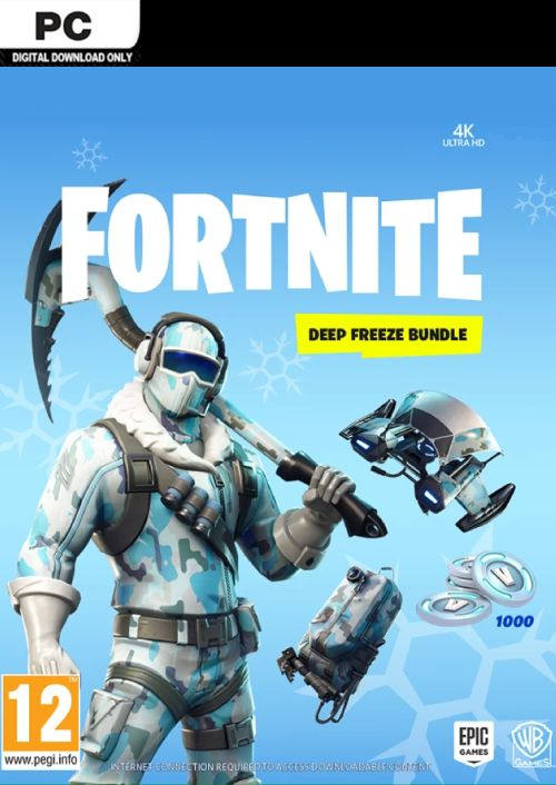 Compare Fortnite Deep Freeze Bundle PC CD Key Code Prices & Buy 315