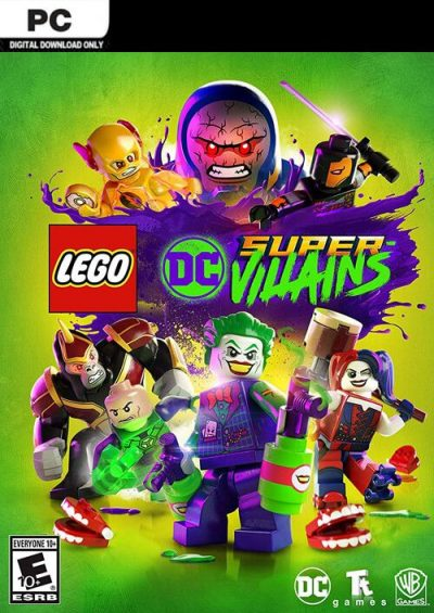 Compare Lego DC Super-Villains PC CD Key Code Prices & Buy 15