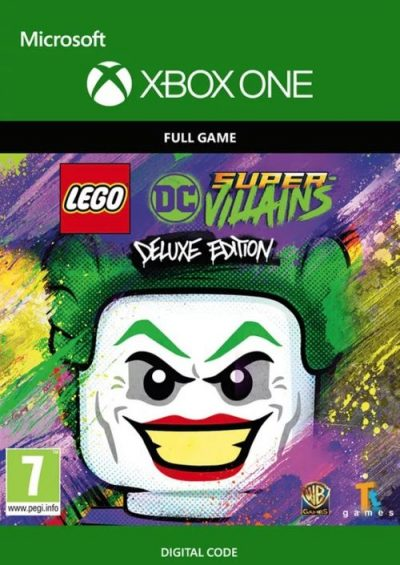 Compare Lego DC Super-Villains Deluxe Edition Xbox One CD Key Code Prices & Buy 13