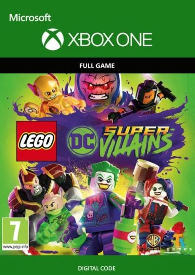 Compare Lego DC Super-Villains Xbox One CD Key Code Prices & Buy 11