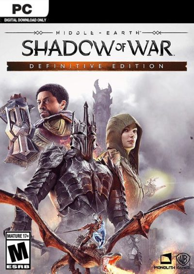 Compare Middle-earth Shadow of War Definitive Edition PC CD Key Code Prices & Buy 9