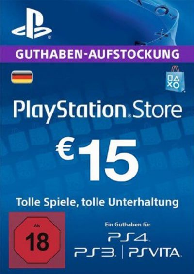 Compare PlayStation Network (PSN) Card - 15 EUR (Germany) CD Key Code Prices & Buy 9