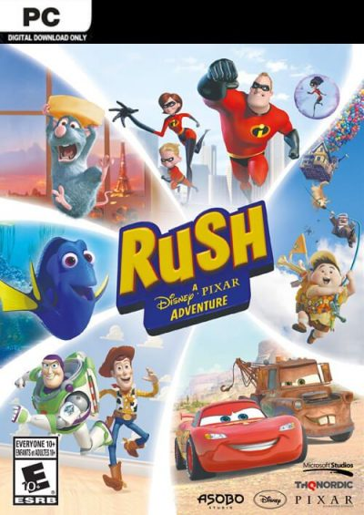 Compare RUSH: A Disney PIXAR Adventure PC CD Key Code Prices & Buy 17
