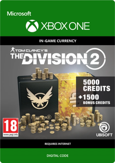 Compare Tom Clancy's The Division 2 6500 Credits Xbox One CD Key Code Prices & Buy 17