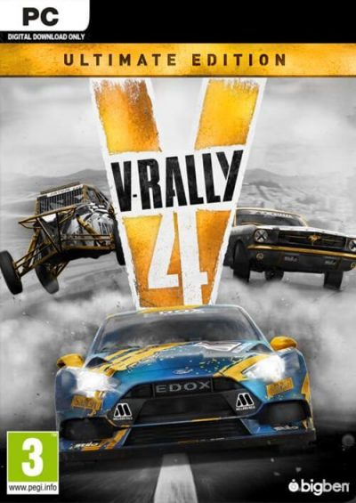 Compare V-Rally 4 Ultimate Edition PC CD Key Code Prices & Buy 7