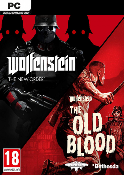 Compare Wolfenstein The New Order and The Old Blood Double Pack PC CD Key Code Prices & Buy 3