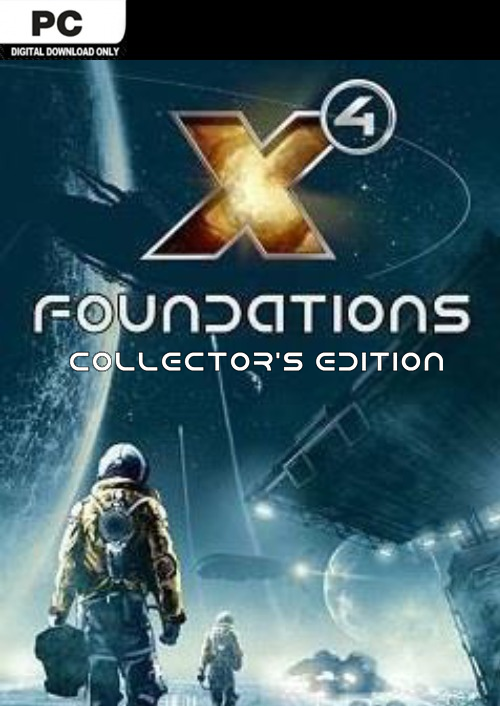 Compare X4: Foundations Collectors Edition PC CD Key Code Prices & Buy 1