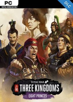 Compare Total War THREE KINGDOMS Eight Princes PC CD Key Code Prices & Buy 32