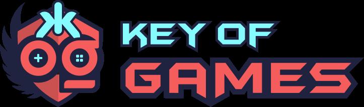 keyOfGames.com official logo in svg