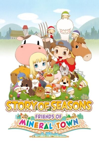 Compare Story of Seasons: Friends of Mineral Town PS4 CD Key Code Prices & Buy 74